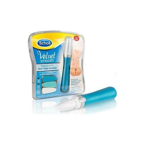 Dr Scholl Velvet Smooth lima electrónica de uñas 1ud