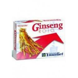 Ynsadiet Ginseng Rojo Coreano 500mg 45 cápsulas