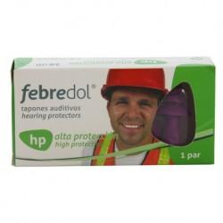 Febredol® Tapones HP goma alta protección