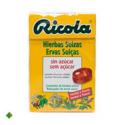 Ricola Sweets Herbes Suizas S / A 50 G
