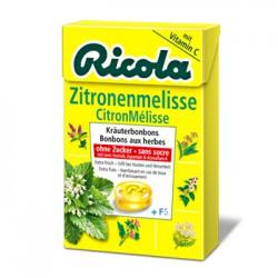 Ricola - Caramelos sin azucar Melisa De Limon (50G)