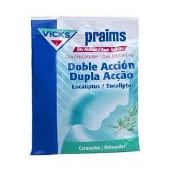 Vicks - Praims Sugar Free Candies Ação Dupla