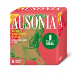 Ausonia Compresses Normal without Wings 16 pcs.