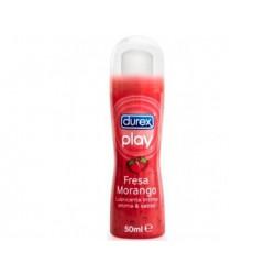 Durex Play Lubricante Fresa / Morango 50 ML.