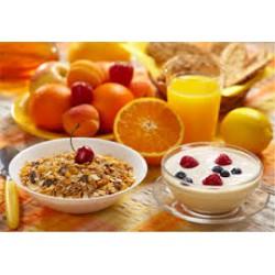 Menu desayuno contenido hidratos de carbono