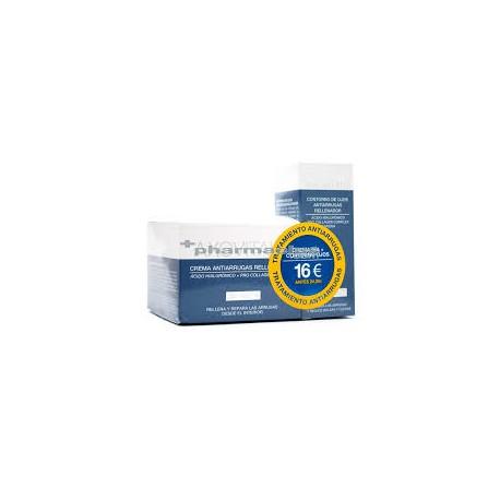 5ab47bdca Axovital Pack Crema Antiarrugas Rellenadora Dia SPF15 50ml + Contorno de Ojos  Antiarrugas Rellenador 15ml