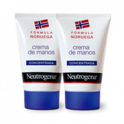 Crème mains concentrée Neutrogena 2 x 50 ml.