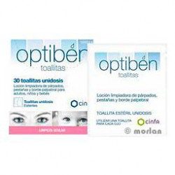 Optiben Eye cleaning wipes 30 Ud