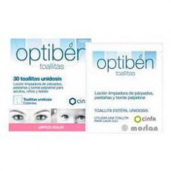 Optiben vous lingettes Eyewash 30