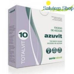 Totalvit 10 Azuvit - L'excès de sucre - 28 comprimés