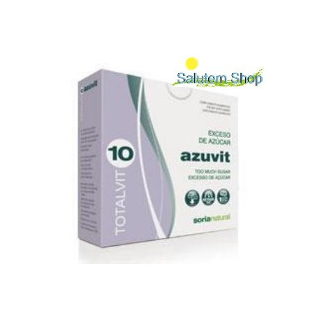 Totalvit 10 Azuvit - Sugar Excess - 28 tablets