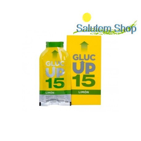 Gluc Up 15 10 sticks.glucosa de rapida absorcion limon