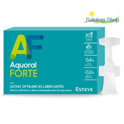Aquoral Forte 30 collyres lubrifiantes MONODOSIS Esteve
