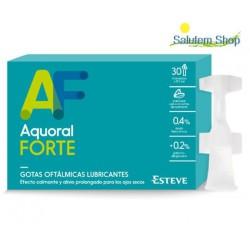 Aquoral Forte 30 Monodosis Esteve смазывающие глазные капли