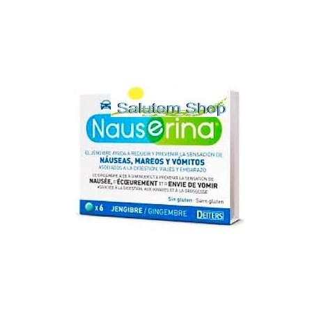 Nauserina 6 Comprimidos para el mareo