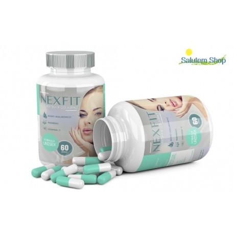 Nexfit 60 capsulas colágeno y keratina.