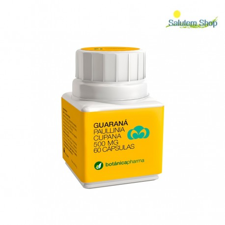 Guarana 500 mg for diets weight control 60 capsules. Botanicapharma