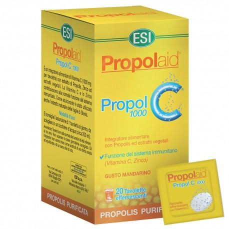 Propolaid Propol C 1.000 mg · ESI · 20 compresse
