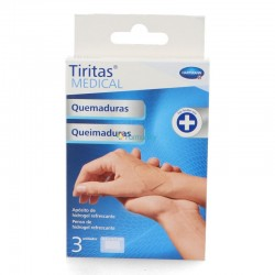 Hartmann Medical Bandages Burns 4,5X6,5Cm 3 unités