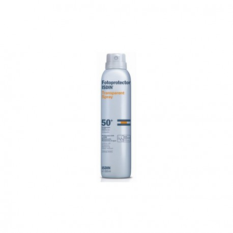 Isdin 50+ Sunscreen Spray Transparente
