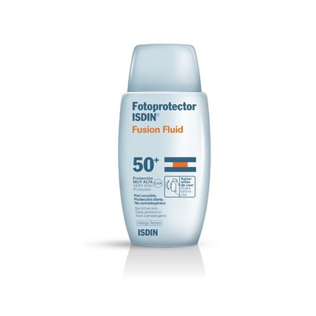 Isdin Fusion Sunscreen Fluid 50+.