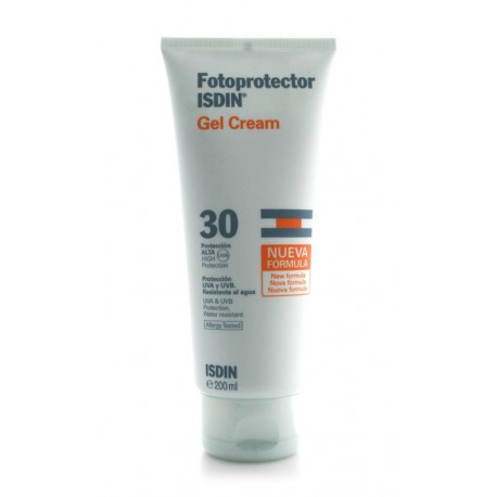 Isdin Gel-Cream Sunscreen SPF30 200ml