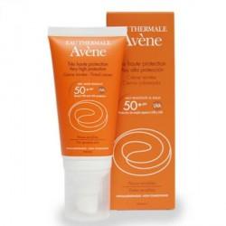 Avene Солнцезащитный крем 50 + крем 50 мл Цветной.