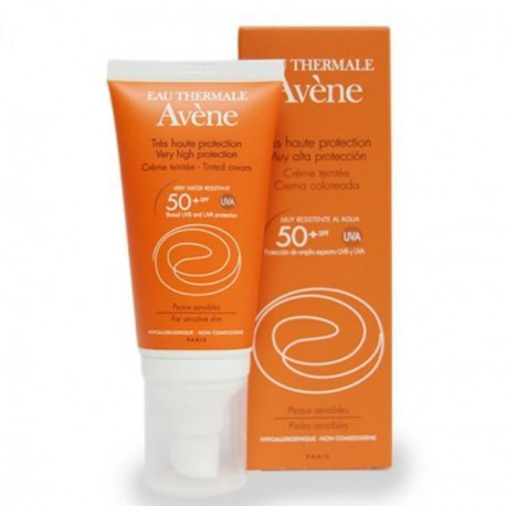Avene Fotoprotector 50+ Crema Coloreada 50ml
