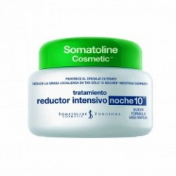 Somatoline Cosmetic Réducteur Traitement Intensif Nuit 250ml 10.