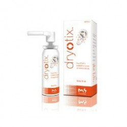 Dryotix. M4 Pharma. Removes moisture from the ear