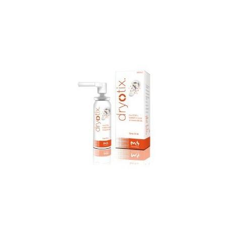 Dryotix. M4 Pharma. Removes moisture from the ear