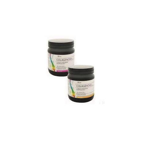 Hydrolyzed collagen & hyaluronic acid . Colagenova . (strawberry flavor )