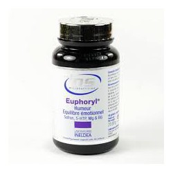 Euphoryl - Saffron e 5-HTP INDELDEA . 90 cpas