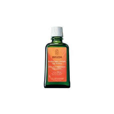 Aceite para masaje con Árnica. Weleda.