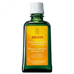 Massage Oil with Calendula. Weleda.
