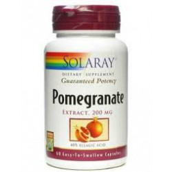 Pomegranate 200mg. Solaray.