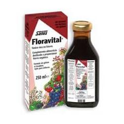 Специальный Целиакия Floravital Утюг сироп . Salus .