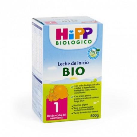 HiPP 1 leche biológica de Inicio.