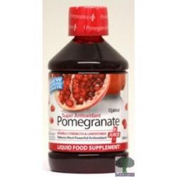 Pomegranate. Granada suco.
