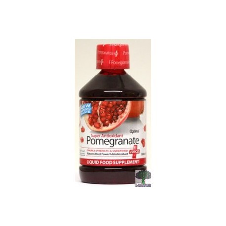 Pomegranate. Granada juice.