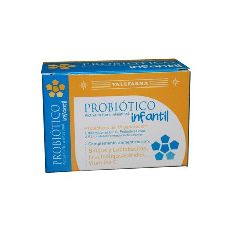 Младенческая пробиотические 4-го поколения. (8 флаконов двухфазный). Valefarma.