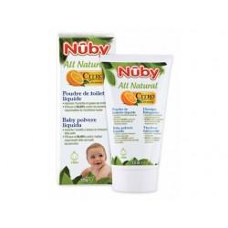 Polvere liquido per il cambio del pannolino . Nûby .