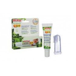 Gel for teeth and gums for babies. Gift massager teeth and gums. Nûby .