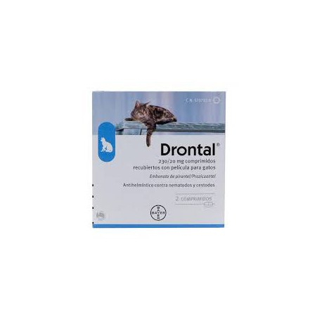 Cats Drontal tablets 2  Bayer