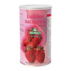 Erdbeer-Milchshake Sättigung. Sotya .