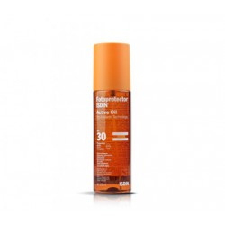 Actif huile solaire SPF 30. Isdin.