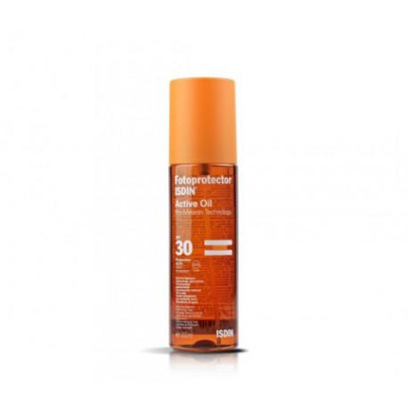Active Oil Sunscreen SPF 30. Isdin.