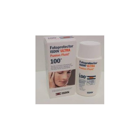 Ultra 100 Active Sunscreen Fluid Fusion Unify. Isdin.