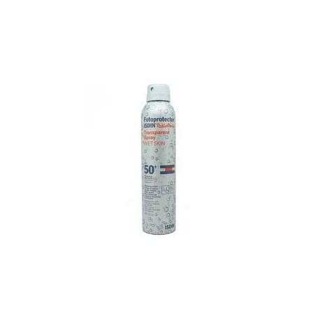 Pediatric Fotoprotector Transparent Wet Skin Spray 50 +. Isdin.