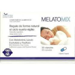 Melatomix. Vaminter. reguliert den Schlaf